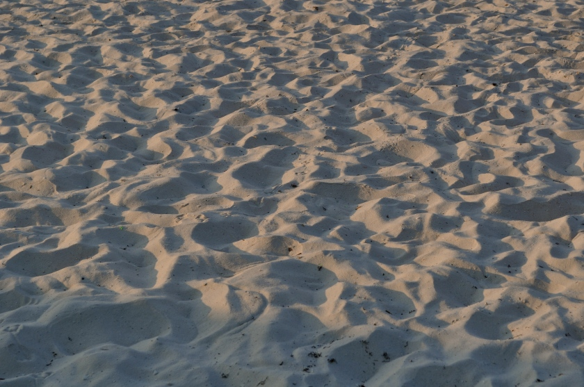 Morning Sand and Sun