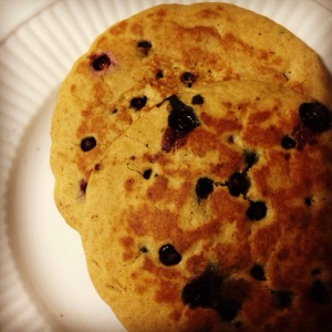 Blueberry Pancake Happiness